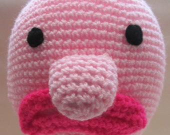 Crochet Blob Fish Beanie Hat - Made to Order