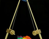 Wooden Toy Fishing Pole