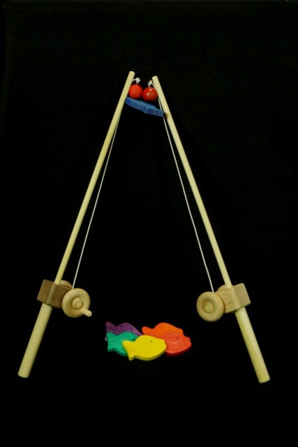 Wooden toy fishing pole for How to make fishing rod