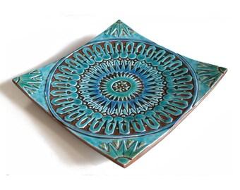moroccan bowl - decorative vessel made from ceramic - moroc#3 ceramic bowl
