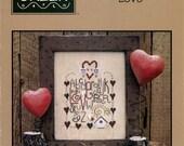 Bent Creek: Love (OOP) - Cross Stitch Pattern