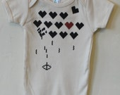Heart Attack!! - Organic Infant Short-Sleeve Onesie