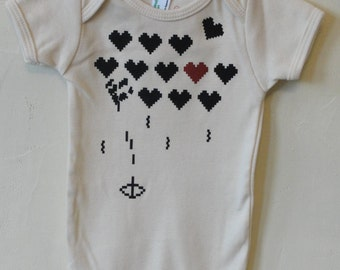 Heart Attack!! - Organic Infant Short-Sleeve Onesie