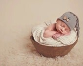 Surprise beanie, grab bag, newborn hat, newborn prop, photography prop