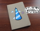 Lighthouses in Love: Cloudy with a Chance of Love (Lined & Small Moleskine Notebook)