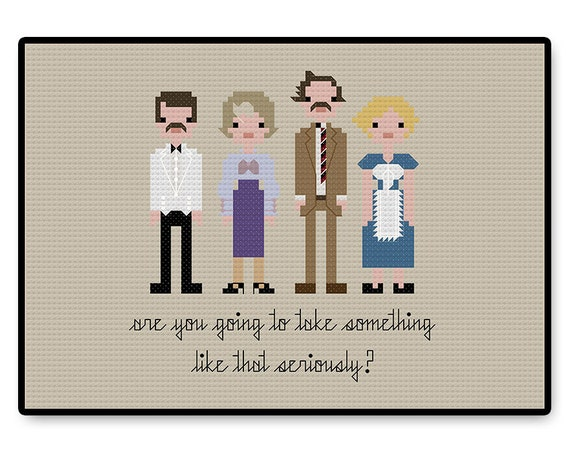 Fawlty Towers Cross Stitch Pdf Pattern Gifts For Her Kids