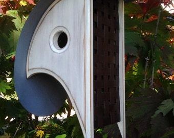 Unique BIRDHOUSE   Wooden Birdhouses   Modern Bird houses