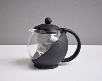 Mid-Century Black Tea Infuser or Personal Teapot