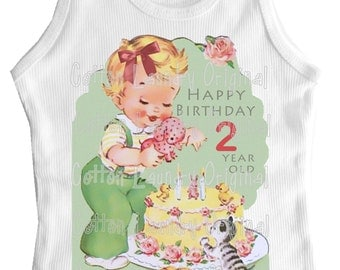 Birthday TShirt, tee shirt, tank, onepiece  Birthday...TShirt Personalized with any age