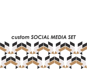 CUSTOM ad-ons: SOCIAL MEDIA logos