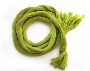 classic knitted long scarf for men or women