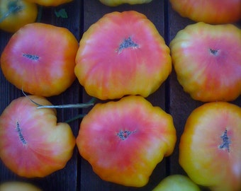 Mr Stripey Organic Heirloom Tomato Seeds