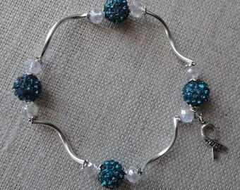 109 Cervical Cancer Awareness Bracelet