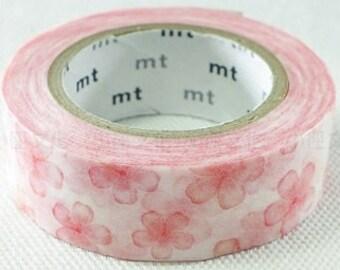 mt ex Cherry Blossom Washi Masking Tape (10M)