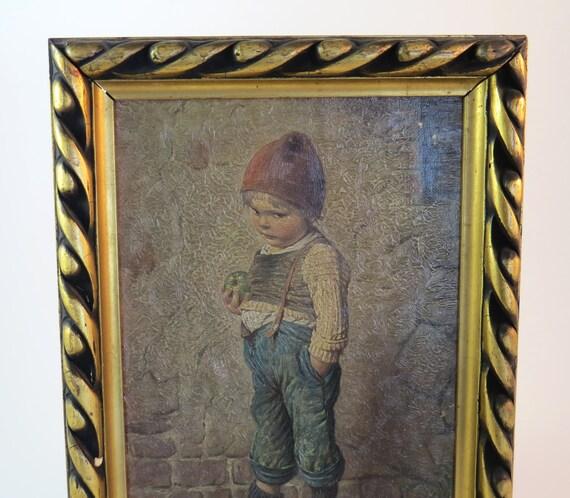 Sale Antique HANSEL PRINT By Artist H. KALBACH / Antique