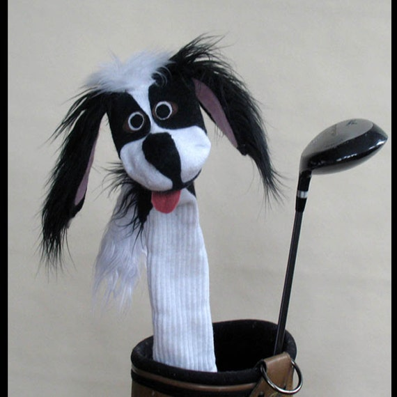 Japanese Chin Couture Golf Club Cover
