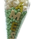 Pre Filled Sweet Cone Personalised with Name/Phrase