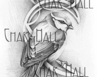 Bird with Design