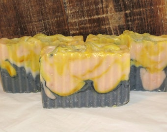 Clearance Fireside Scented Luxury Cold Process Rustic Soap