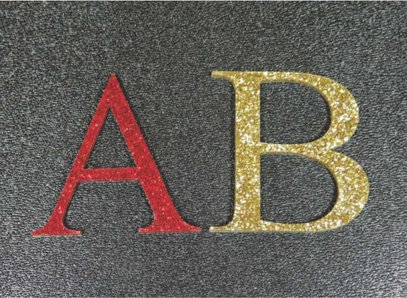 Items similar to acrylic letters and numbers 1 8 inch for Self stick letters