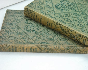 VINTAGE CHILDRENS BOOKS, The Bobbsey Twins in Mexico, 1947, The Bobbsey Twins on a Houseboat, 1955, Classic Children's Books, Free Shipping