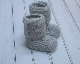 COUPON CODE sale15 Crochet Baby Boots, Booties, Photo Props Boy, Girl Baby Shower- 0-3m, 3-6m, 6-12m-Many colors - Made to order