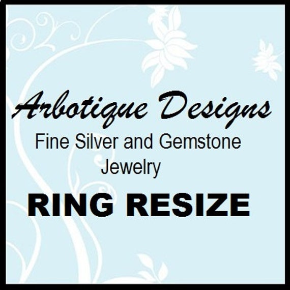 Ring Resize with Return Shipping