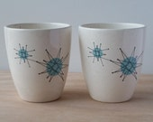 ON HOLD STUDIOXTINE - Do not purchase if you aren't studioxtine Rare Franciscan Cups Starburst Pattern