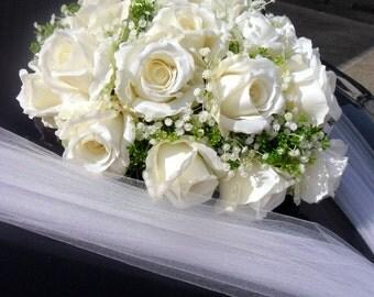 Wedding Car Decoration Heart of Roses,