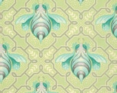 Bumble Bee in Sprout by Tula Pink for FreeSpirit 1 yd Cotton Quilt Fabric