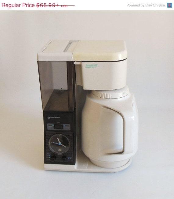 Black Decker Thermal Carafe Coffee Maker TCM402 by LaurasLastDitch