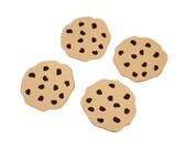 Chocolate chip cookie die cuts - 4 dies - you choose your size (C64)