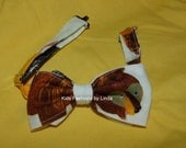 Brown Bear Brown Bear  Bow Tie with Adjustable Neck Strap