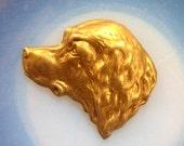 Spaniel Dog Head (2 pc)