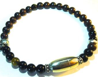 JAVA- Mens 6mm Beaded Bracelet
