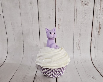 Fake Cupcake Clay Character