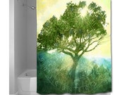 Rooted in Time Shower Curtain - Choice of Sizes