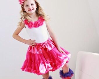 Hot Pink Petti tutu skirt