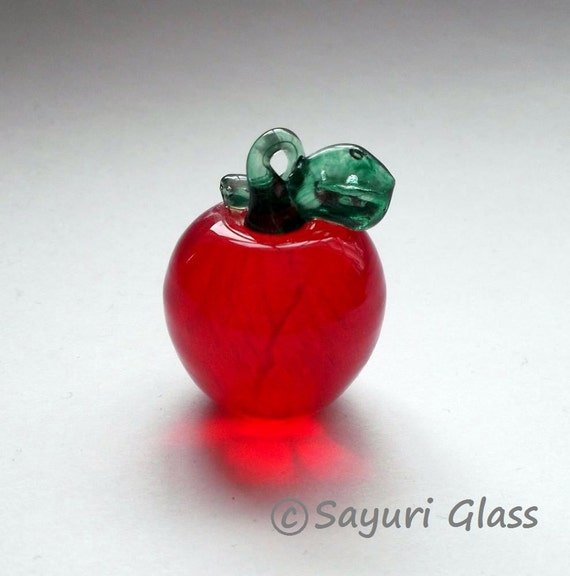 Red Apple Ornament  : DISASTER RELIEF