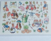 dollhouse  labels paper decal for  kids