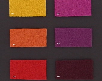 BOILED WOOL knit in many beautiful shades, 1 m