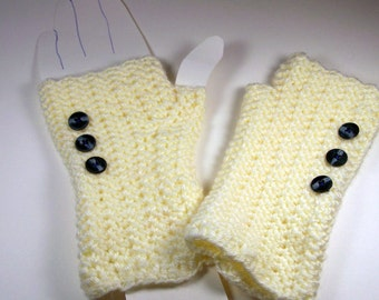 Romance Fingerless Mitts/Gloves/Arm Warmers/Gauntlets/Wristers