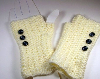 Victorian Romance Fingerless Mitts/Gloves/Arm Warmers/Gauntlets/Wristers