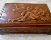 Vintage Mavrakos Chocolates Wood Box Advertising St Louis