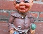 Vintage Heico Drunk Monk Bobble Head Nodder West Germany