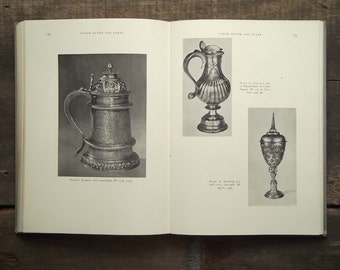 Vintage book antique silver guide book The New Connoisseur Guide to Antique Silver and Plate
