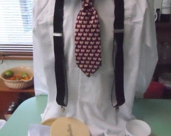 Braces, Boardwalk Empire, vintage, men's costume.