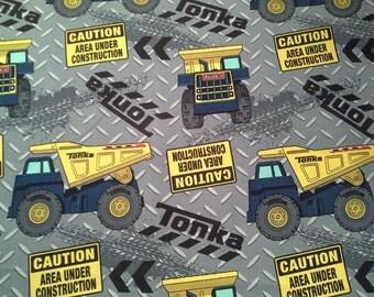 Fabric - Tonka Diamond Plate Toss by Springs Creative - Last Yard Available