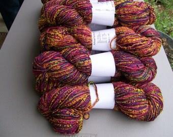 Flag Yarn in Rainbow of colors  #221 by Artisanal Yarns