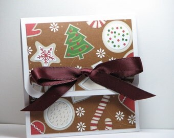 Frosted Sugar Cookies Christmas Gift Card Holder